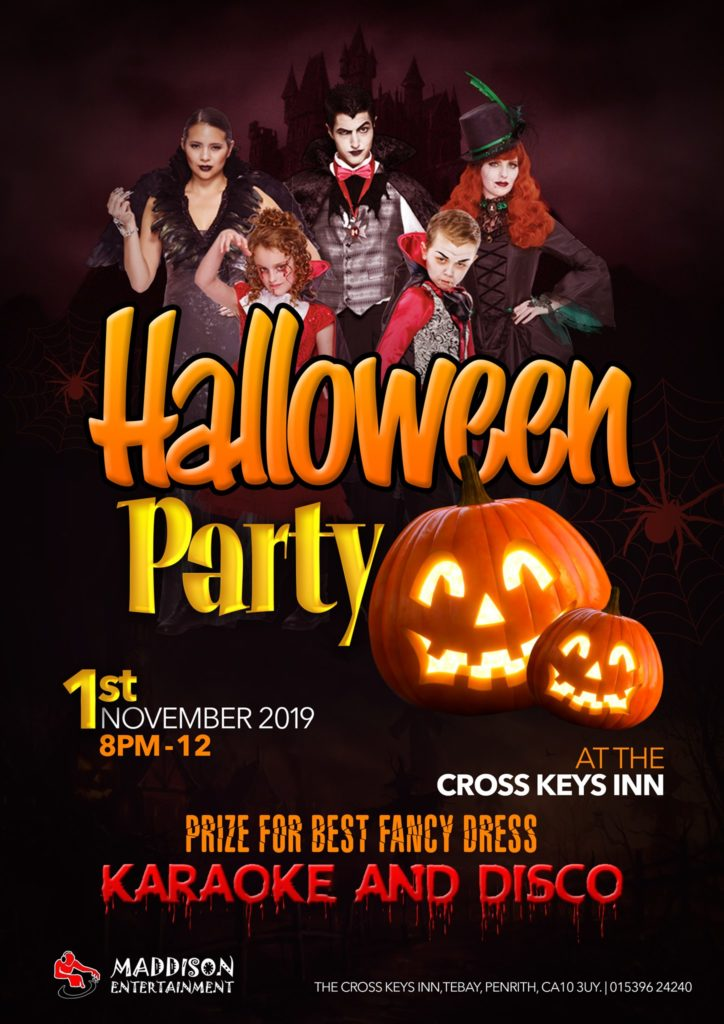Event Poster for Tebay Halloween Event 2019